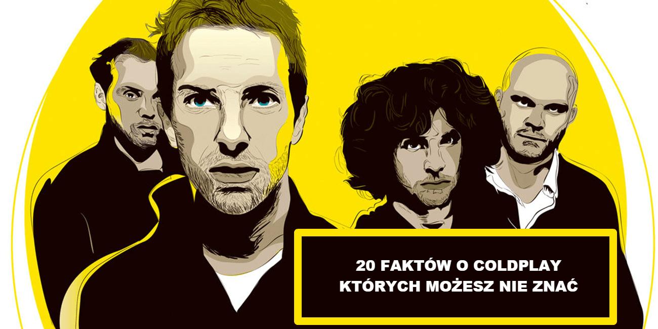 20 faktów o Coldplay, których możesz nie znać
